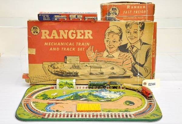 5: Boxed Ranger Train Toys