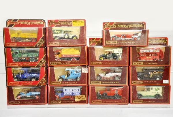 15: Boxed Matchbox Models of Yesteryear