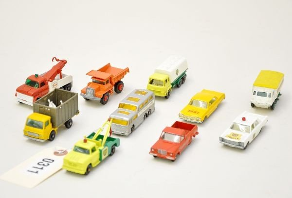 24: 1960's Matchbox Vehicles