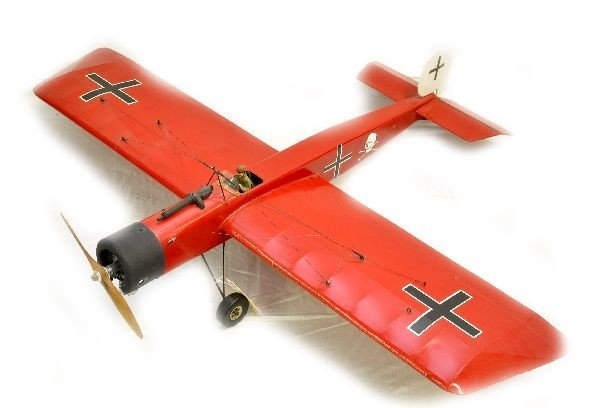 168: German Fighter Gas Powered Airplane