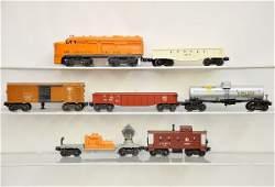 583 7 pc Lionel Diesel Freight Set