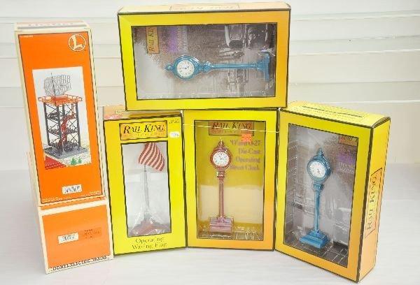 6: 6 Boxed Lionel & MTH Accessories