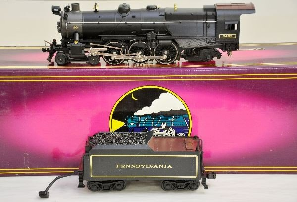 8: MTH 5495 PRR K-4s Locomotive
