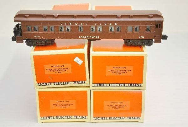 12: 4 Boxed Lionel Madison Cars