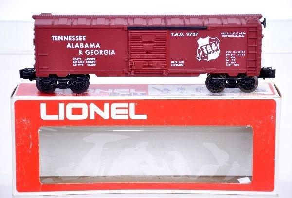 24: Scarce Lionel LCCA 9727 TAG Boxcar