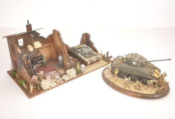 337: 2 US Military Dioramas
