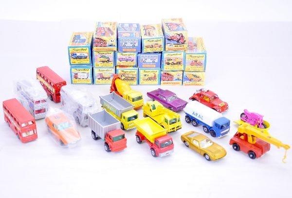 349: 16 Matchbox Superfast Vehicles