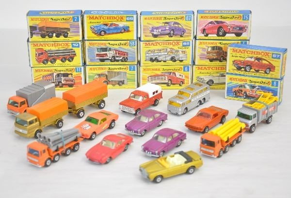 415: 14 Boxed Early Matchbox Superfast