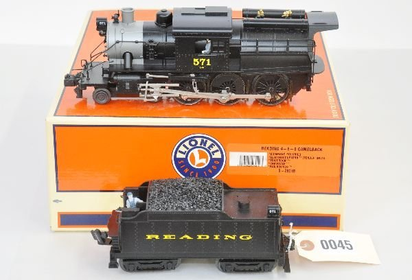 6: Boxed Lionel 28018 Reading Camelback