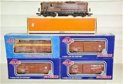 40: 5 Pc. Modern Diesel Freight Set