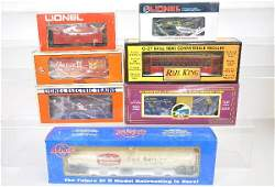 98 7 Assorted Modern Freight Cars Plus