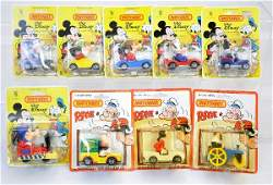 372 9 Matchbox Disney  Popeye Vehicles