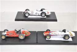 444: 3 Scale 1:18 Racers