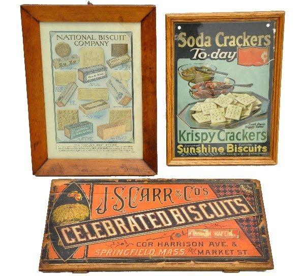 5: 3 Biscuit & Cracker Signs