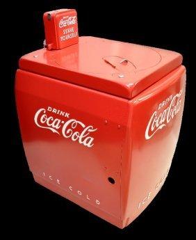Restored Coca-Cola Vending Machine