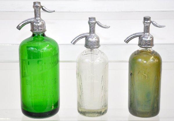 95: 3 Early Seltzer Bottles