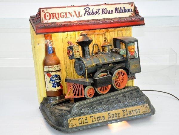 96: Vintage Animated Pabst Beer Display