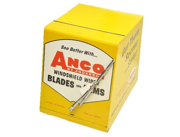 172: Vintage Anco Wiper Blade Display