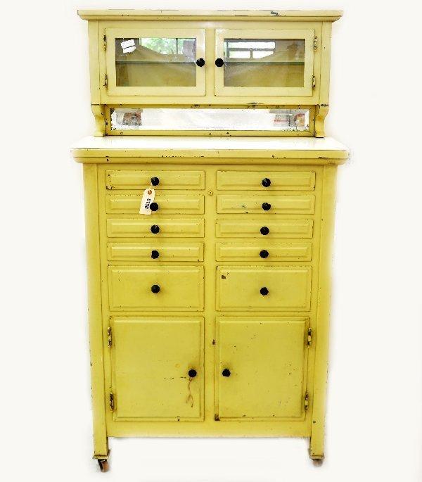 234: Vintage Dentist Cabinet