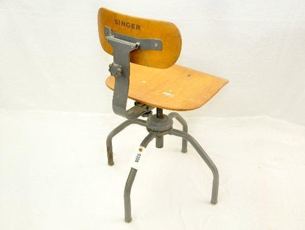 Unusual Singer Sewing Chair