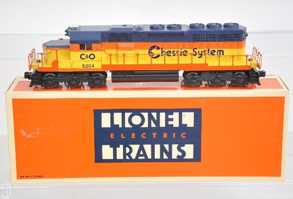 1: Boxed Lionel 18204 Chessie SD-40 Dummy