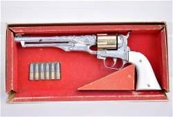 391: Boxed Hubley Colt 45 Cap Pistol