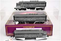 103: MTH 20-2176-1 NYC F3 ABA Diesels