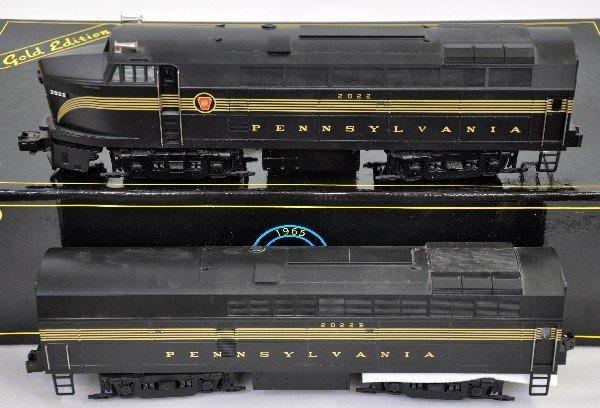 2: Weaver PRR Sharknose AB Diesels