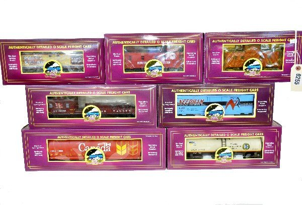3: 7 MTH Freight Cars
