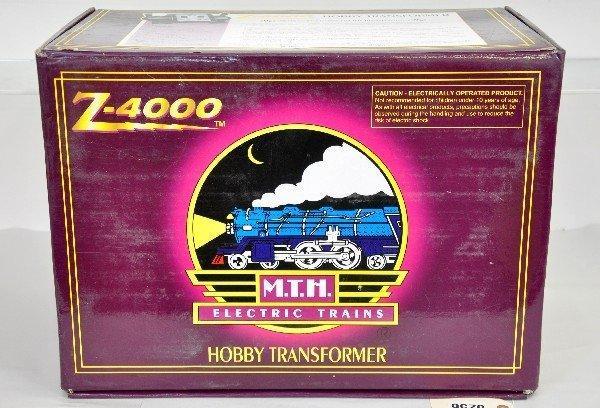 4: MTH 20-4000 Z-4000 Transformer