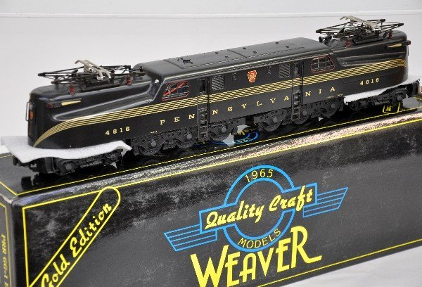 6: Weaver Brass PRR GG1
