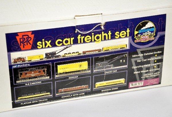 7: MTH 20-90005 PRR Freight Car Assortment