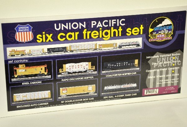 21: MTH 20-90022 UP Freight Car Set