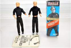 401 AC Gilbert Man From Uncle Action Figures Plus
