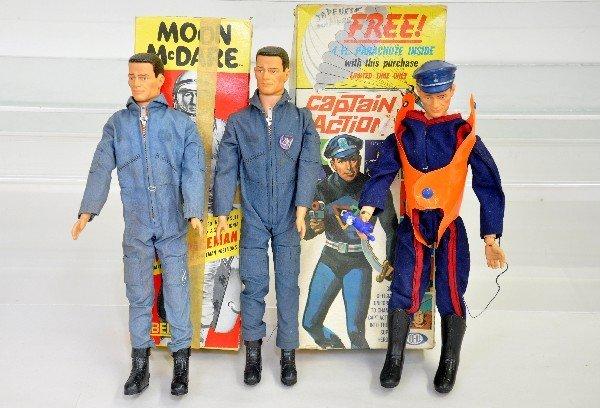 402: Captain Action & Moon McDare Action Figures