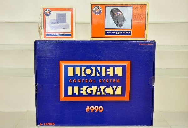 15: Boxed Lionel Controllers, Plus