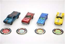 280 4 Hot Wheels Redline Cars
