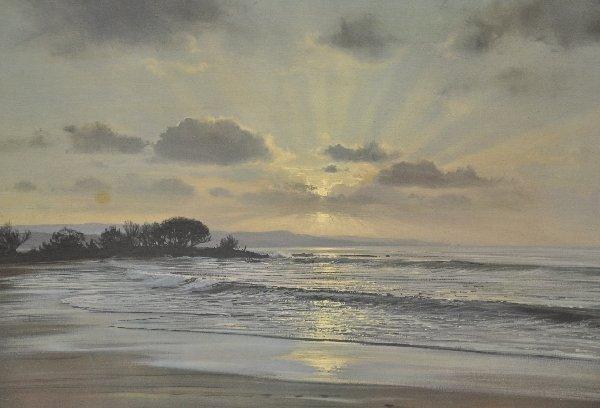 409: Signed Peter Ellenshaw Seascape - 2