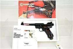 526: Boxed Crossman Mark I Air Pistol