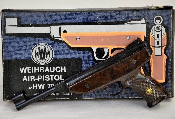 531: Boxed Weihrauch HW 70 Air Pistol