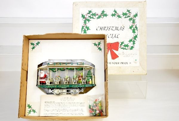 11: Early Pride Lines Christmas Trolley