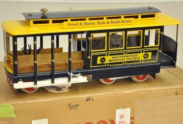 18: Boxed McCoy San Francisco Trolley