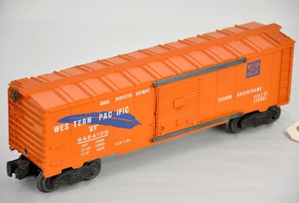214: Nice Lionel 6464-100 Blue Feather Boxcar