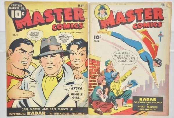 478: 2 Golden Age Master Comics