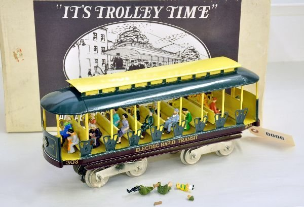 6: Boxed Pride Lines Lionel 303 Trolley