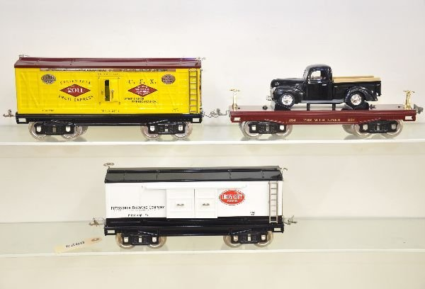 23: 3 MTH 200 Series Freight Cars