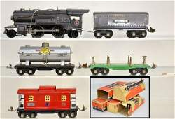 118 Boxed Lionel 259E Steam Freight Set