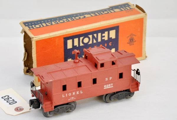 187: Rare Boxed Lionel 6257 Caboose With Stack