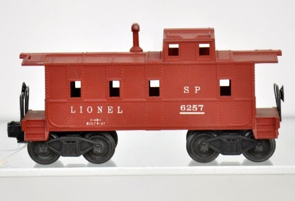 187: Rare Boxed Lionel 6257 Caboose With Stack - 2
