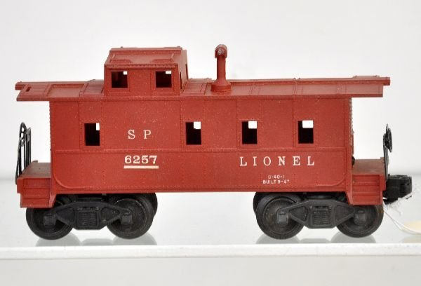 187: Rare Boxed Lionel 6257 Caboose With Stack - 3